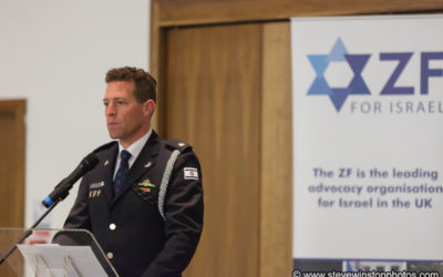Israel National Police spokesperson in London