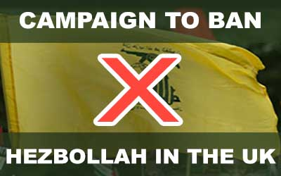 CAMPAIGN: Ban Hezbollah in the UK