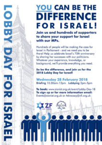 Lobby Day for Israel 2018