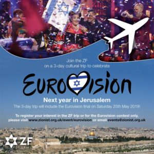 ZF cultural trip to Israel to celebrate Eurovision 2019