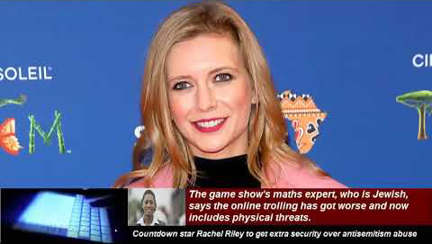Countdown star Rachel Riley speaks out against Malaysian ban and Antisemitism.