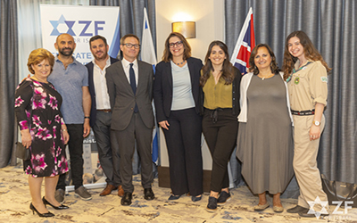 Welcoming Britain's new Ambassador to Israel