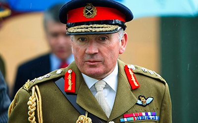 Zionist Federation to host General Lord Richard Dannatt for its annual Balfour Lecture