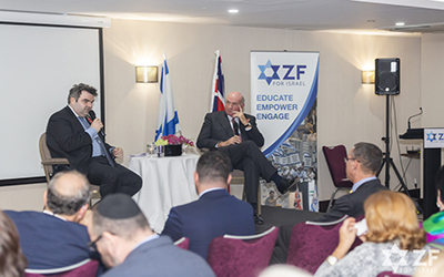 Hosting General Lord Dannatt at the ZF Annual Balfour Lecture 2019