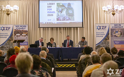 The ZF  – CFI annual Lobby Day for Israel 2020