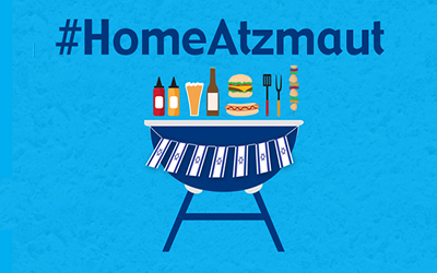 #HomeAtzmaut: Celebrating Israel's 72nd birthday in lockdown