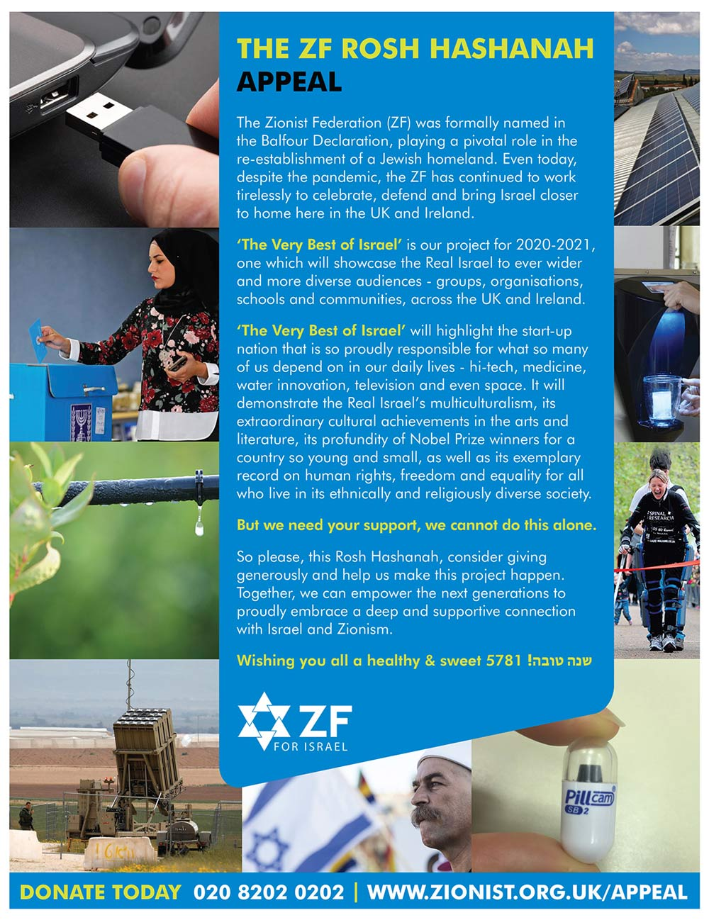 The ZF Rosh Hashanah Appeal