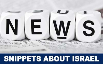 Significant news snippets from Israel