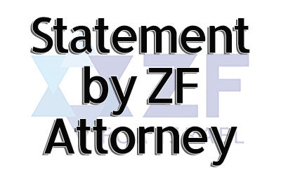 Statement from the ZF's Attorney