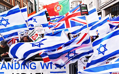 Zionist Federation holds London rally in solidarity with Israel