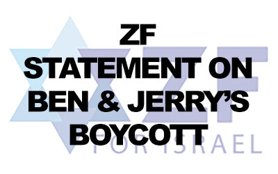 ZF statement on Ben & Jerry's decision to boycott