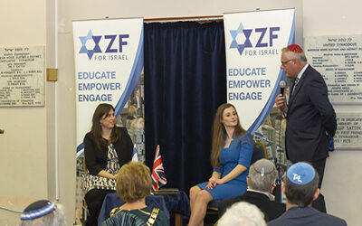 An evening with Her Excellency, Ambassador Tzipi Hotovely